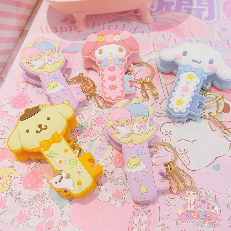 1 Pc Cute Cartoon Cinnamoroll My Melody Little Twin Stars Pudding Dog Comics Hair Pin Hair Clip For Girls Gift Toy Figure