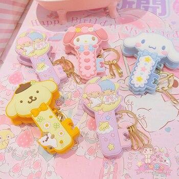 1 Pc Cute Cartoon Cinnamoroll my Melody Little Twin Stars Pudding Dog Comics Hair Pin Hair Clip for Girls Gift Toy Figure