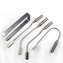 Instruments Set 12.5/14/16/18cm Scissors+Needle Holders +Tweezers stainless steel Instruments Ophthalmic Surgical Tools 1pcs stainless steel 2 hole surgical instruments liposuction cannulas for fat grafting