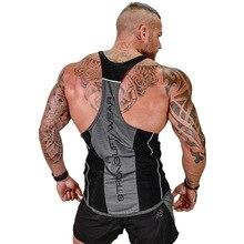 Mens Bodybuilding Tank top Gyms Fitness sleeveless shirt 2018 New Male Cotton clothing Fashion Singlet vest Undershirt PYHAILLP