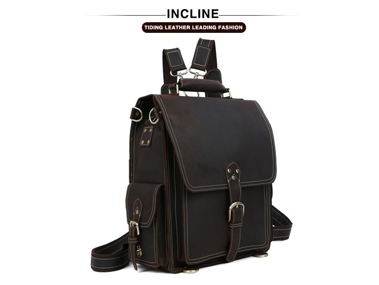China leather backpack Suppliers