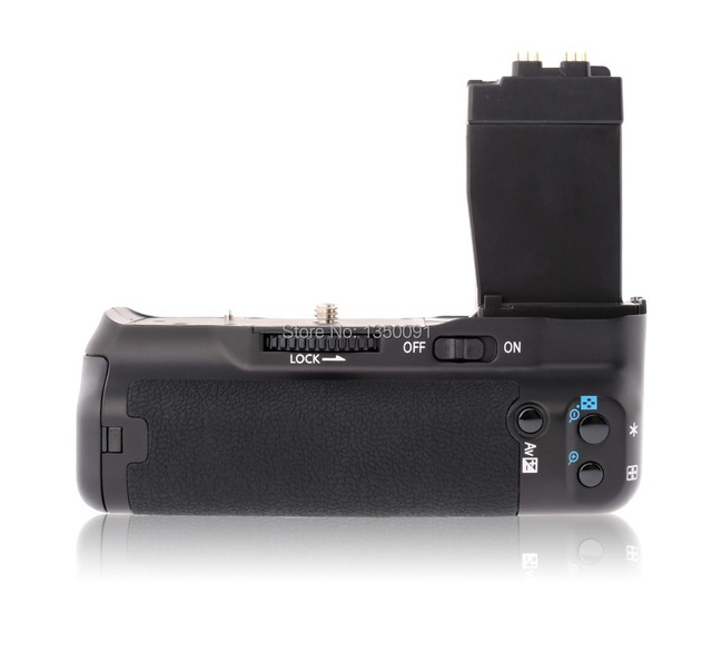 Meike MK 550DR Remote Control Battery Pack Grip for Canon EOS 550d 600d 650d 700d T5i T4i T3i T2i