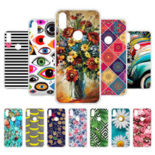 Phone Case For Motorola One Case Silicone Soft TPU Cellphone Fashion Cute Black Cover For Fundas Moto P30 Play Bumper Housing(China)