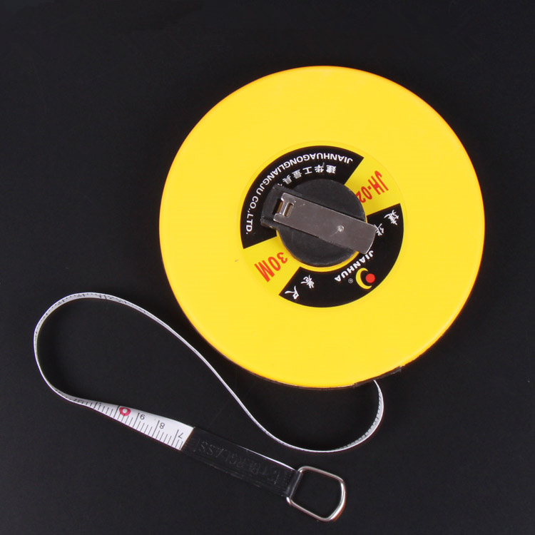 Glass fiber tape measuring scale of 20 meters tape measurement tools 1000ml glass measuring cylinder