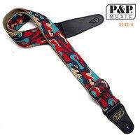 P P S142 Guitar Strap Bass Belt For Electric Guitar Length Classical Guitar Folk Guitar Bass