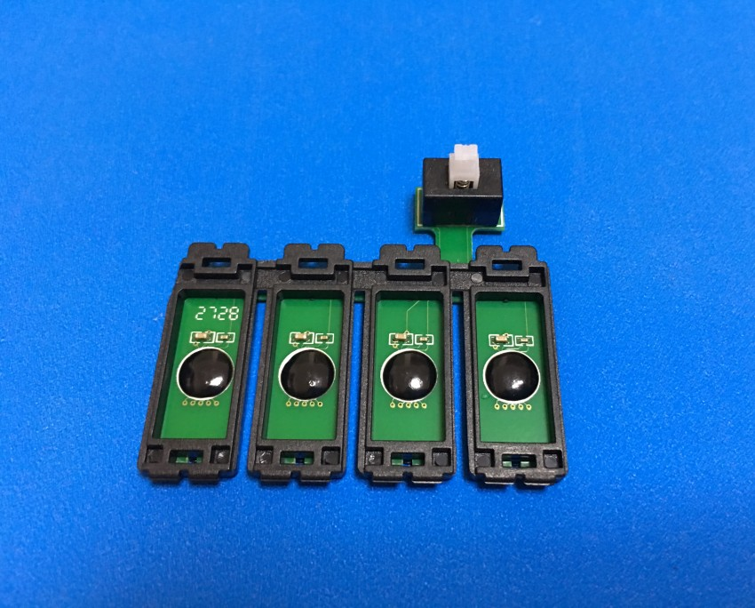 US $6 88 |T1261 CISS Auto Reset Chip for Epson WorkForce 630 635 60 840 435  545 645 845 Stylus NX430 NX330 WorkForce WF3520 3540-in Printer Parts from