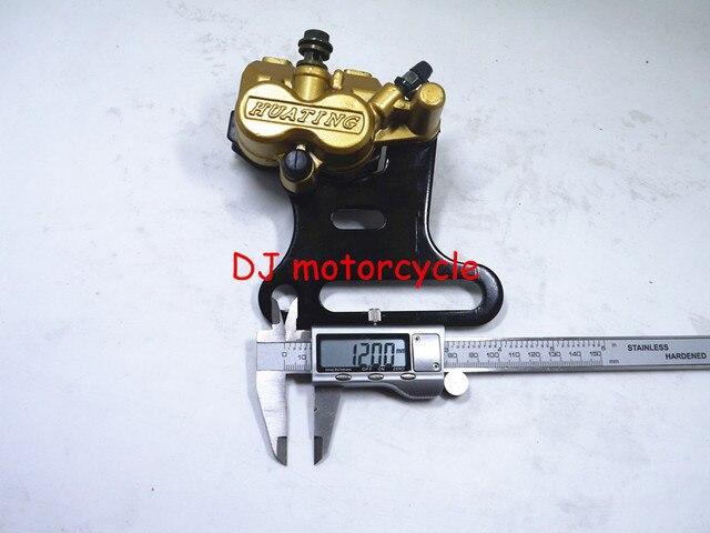 12MM  Dirt Pit Bike Rear Brake System Brake Pad + Brake Calilper With Frame 70 110 125 150CC CRF50 KLX110 SSR SDG