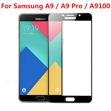 Full Cover Tempered Glass For Samsung Galaxy A9 A9S A9 Pro 2018 2016 Star Lite A
