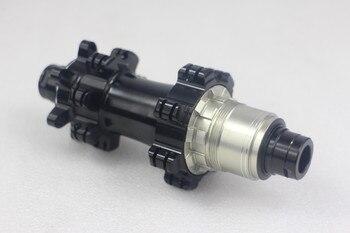 24H 28H 258g disc bike hubs mtb bicycle disc hub wheels hubs Straight pull M42 142x12mm thru axle black bearing