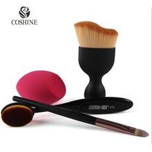 Coshine Oval Contouring Kabuki 82 Makeup Brush Oval Foudation Cream Brush Eyeshadow Brush With Miracle Real