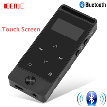 2017 Newest Version Bluetooth mp3 player Touch Screen BENJIE S5B 8GB Digital Voice Recorder Lossless HiFi Sound MP3 Music Player
