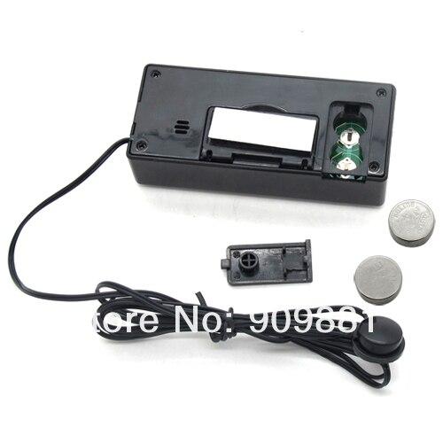 Цифровой автомобильный термометр 12 В с ЖК-дисплеем, термометр для автомобиля с синей/оранжевой подсветкой, измеритель температуры, 1,5 м, Датчик кабеля