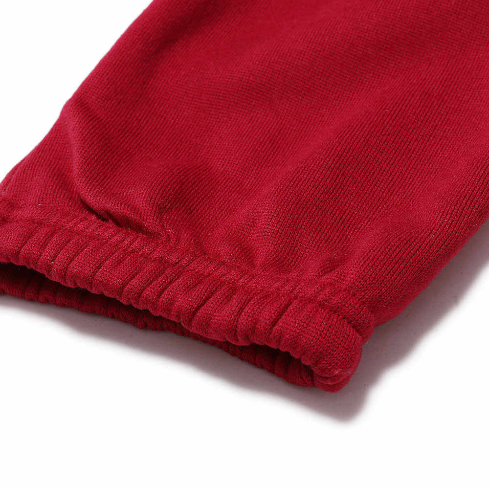Men\u0027s Xmas fashion 2019 Casual Autumn Winter Casual Hoodie Print Christmas  Zipper Print Tracksuit Jumpsuit clothing sets