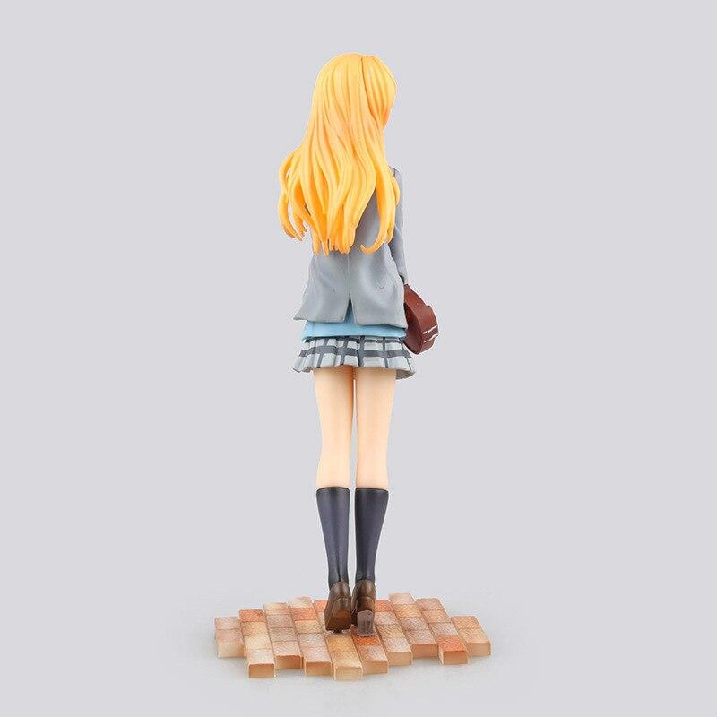 high quality GSC Your Lie in April Miyazono Kaori action figure model toys 1/8 scale Miyazono Kaori decoration pvc toys 2