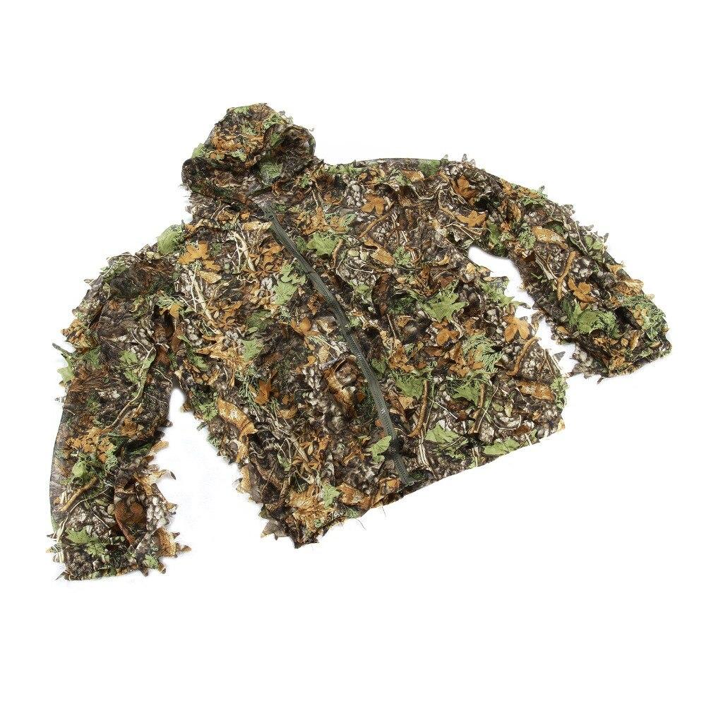CS Охота Одежда Новый 3D в виде кленового листа Bionic Ghillie Костюмы Yowie Снайпер birdwatch страйкбол камуфляжная одежда куртка и штаны