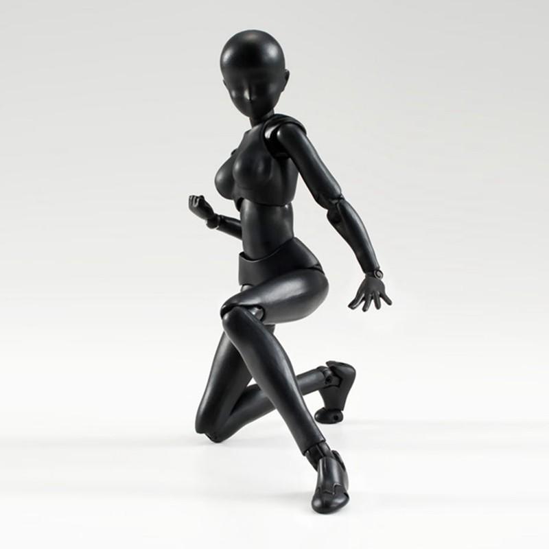 6 Types 2 Colors SHFiguarts Body Chan Body Kun Black Skin Color Ver PVC Action Figure Collectible Model Toy (4)