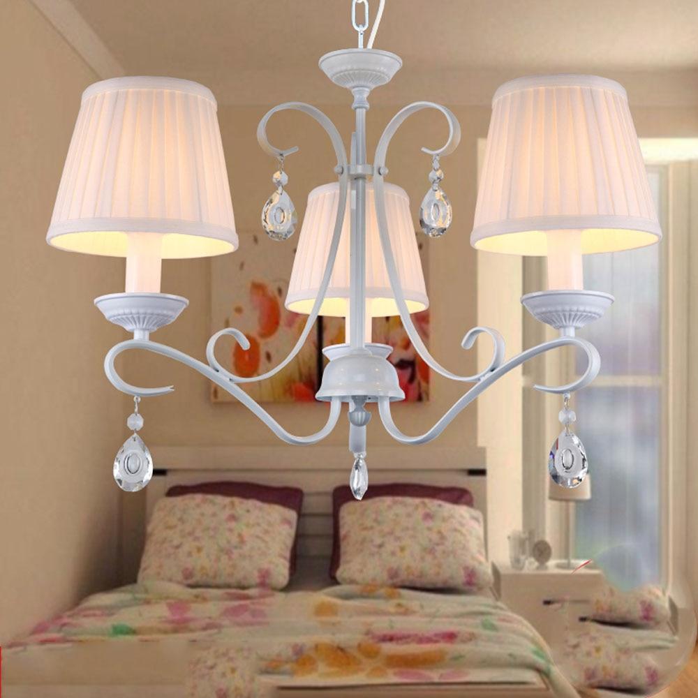 European LED Crystal Chandeliers 110v-220v Modern Dining Room Chandeliers E14 Home Lighting Living Room Wrought Iron led chandel