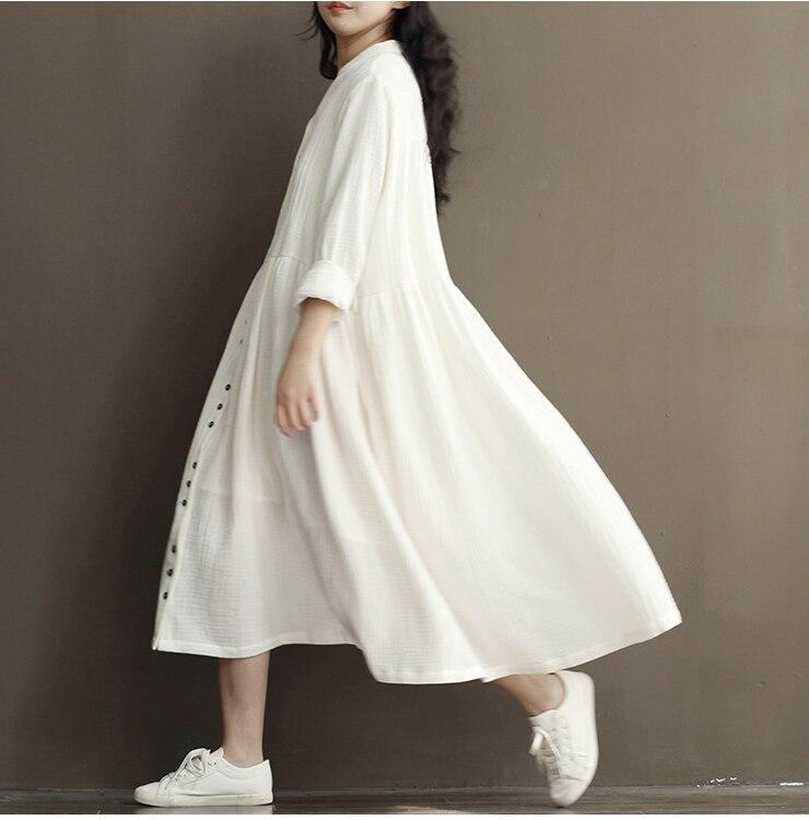 Linen Shift Plus Size Dresses