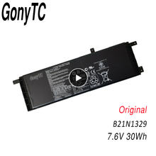 Prawdziwej skóry na Laptop baterii B21 N1329 B21N1329 dla ASUS Ultrabook X553MA X553M D553MA F553M F553MA X453 X453MA 0B200 00840000