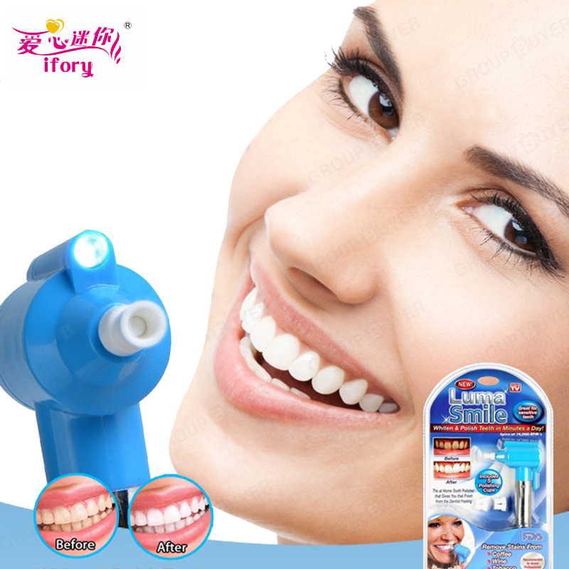 все цены на Ifory Teeth Whitening Device Teeth Cleaning Machine Gel Whitener Bleach Remove Stains Oral Hygiene Tooth Health Care Tool онлайн