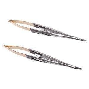 Image 1 - 1 個外科歯科矯正インプラントカストロ針ホルダー 14 センチメートル Ce ツール/ストレート/湾曲した選択するための