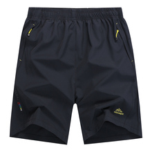 7XL 8XL Men Quick Dry Baggy Shorts Summer Male Casual Thin E