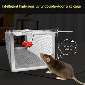 Image 3 - Inteligentne drzwi humanitarny na żywo pułapka na mysz zwierząt mysz klatka szczur mysz myszy pułapki domowe małe gryzonie zwierzęta do wewnątrz na zewnątrz