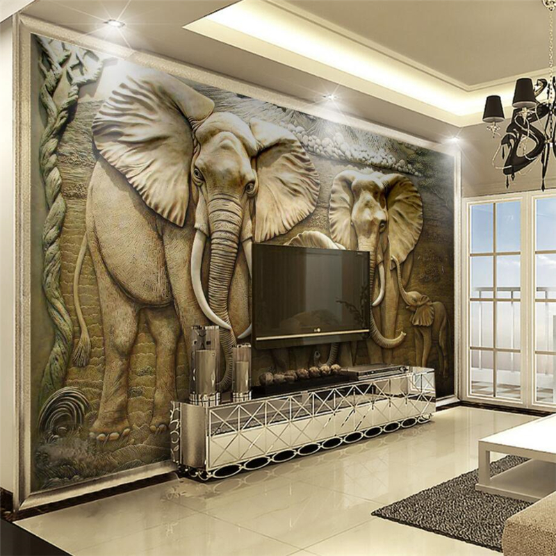 Photos Of 3 D Wallpaper Elephant As Good Info For You