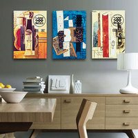 No Framed Picasso Oil Painting Abstract Printed Painting Home Decor Wall Art Picture