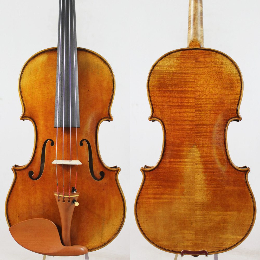 Special offer!!!Copy Antonio Stradivari 4/4 Violin violinoAll European Wood M7086 Free Shipping!Professional Sound!