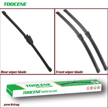 Front and Rear Wiper Blades  For VW Passat B5 2002 -2005 Silicone Rubber Windscreen Car Accessories