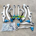 Front Upper Control Arm Kit L/R Sway Bar Link Outer Tie Rod Set For Audi A4 A6 C5 B6  Volkswagen Passat