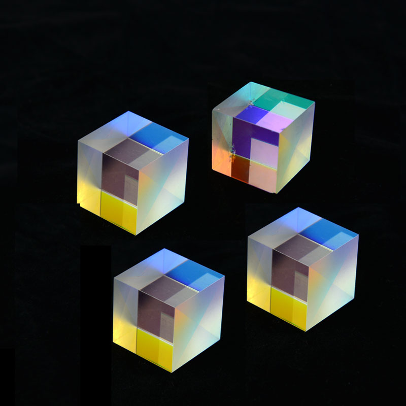 US $6.93 30% OFF|4pcs 2X2X1.9cm defective X Cube Prism RGB Combiner Splitter Cross Dichroic Prism for Home Decoration|prism| |  - AliExpress