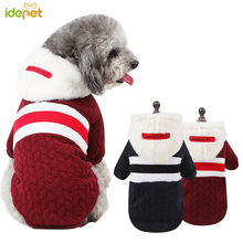 Winter Dog Coat Sweater Hoodies Warm Pet Clothes for Small Puppy Cat Outfit Shirts Jacket 30