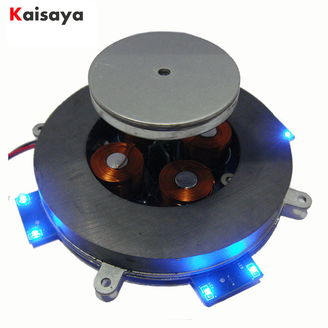 DIY 500g magnetic levitation module Magnetic Suspension Core with LED lamp AC12V 2A  of analog circuit intelligent D4 007