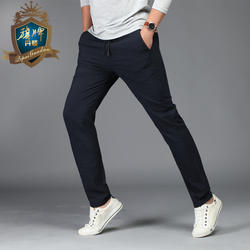2018 весна осень модные трикотажные повседневные мужские брюки мужские большие размеры 6XL материал шнурок мужские длинные брюки бренд