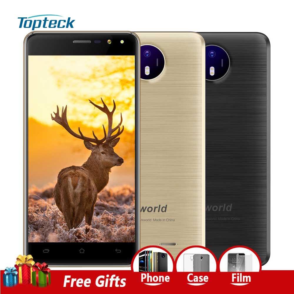 "bilder für Vkworld F2 Smartphone 3G MTK6580A Quad Core 1,3 GHz Android 6.0 5,0 ""HD 1280*720 Handy 2 GB + 16 GB 8MP OTA 2200 mAh Handy"