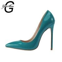 2017 Fashion New Design Sation Thin High Heels Pumps Shoes For Women Navy Dark Sea Blue