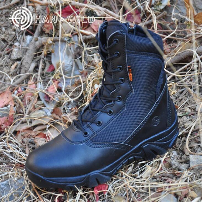 Tactical Boots Military Combat Boots for Men Army Shoes High Quality AirBorne Boot Men Summer/Winter Desert Boots Outdoor Shoes tojamo men army military boots high quality motorcycle boots winter desert hunt male combat boots man botas martin men shoes