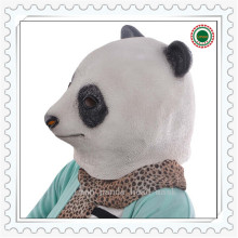 Hot Selling Halloween Party Cosplay Latex Animal Panda Head Mask Halloween Costume Party Christmas Panda Mask Theater Prop