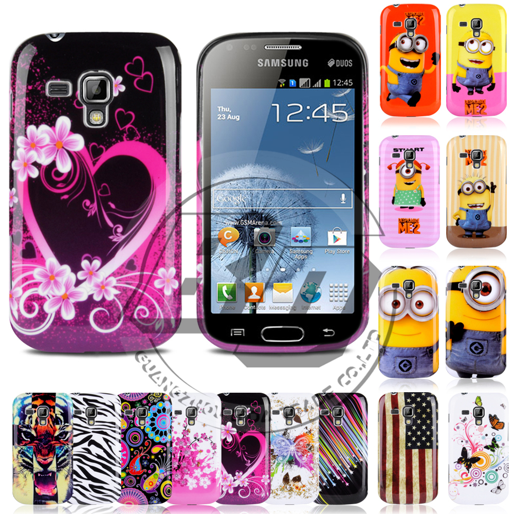Fashion Pattern Printed Soft Silicone TPU Back Case Cover ...