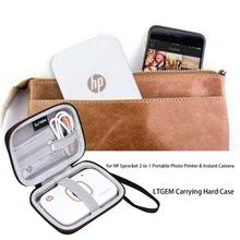 LTGEM EVA Hard Case for HP Sprocket 2-in-1 Portable Photo Printer & Instant Camera – Travel Protective Carrying Storage Bag