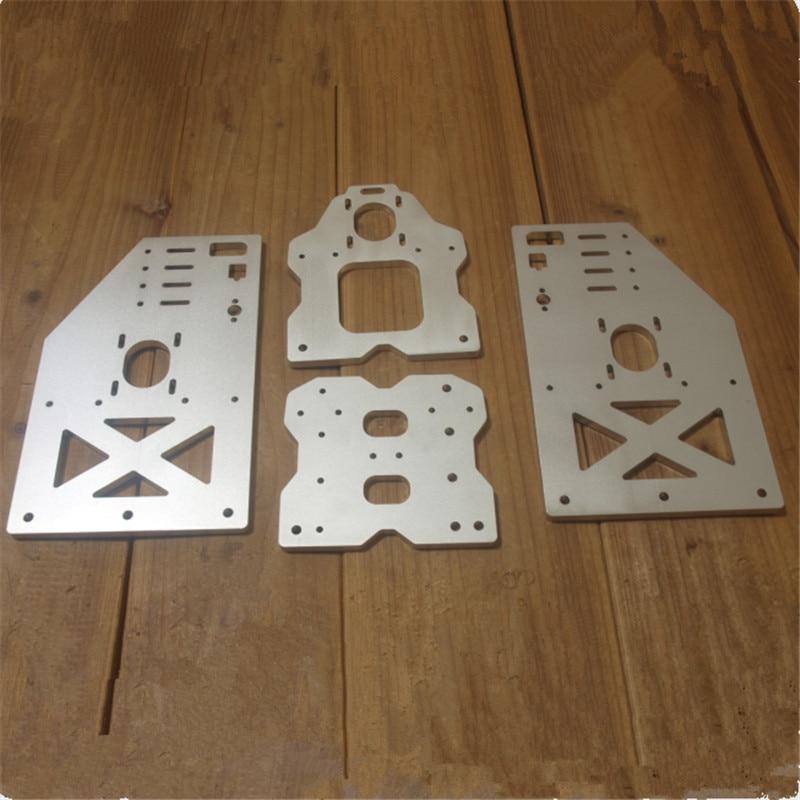 OX CNC taller gantry plate kit Openbuilds OX CNC Aluminum Taller Gantry Side Plates Tall 4