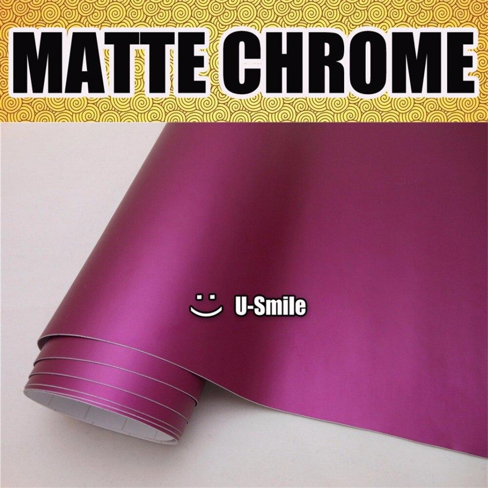 *Premium Magenta Purple High Gloss Metallic Glossy Sticker Decal Vinyl Wrap Film