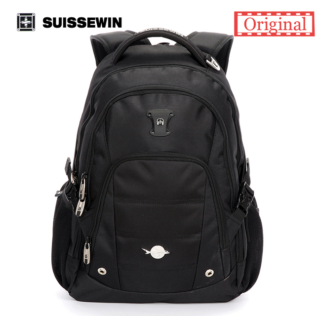 Suissewin Cool Backpack Men Brand Backpack Swiss Business Travel ...