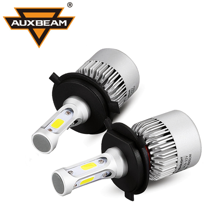 Led kfz lampen images mbel furniture ideen auxbeam h4 led scheinwerfer kits 6500 karat cob chips s2 series auxbeam h4 led scheinwerfer kits parisarafo Images