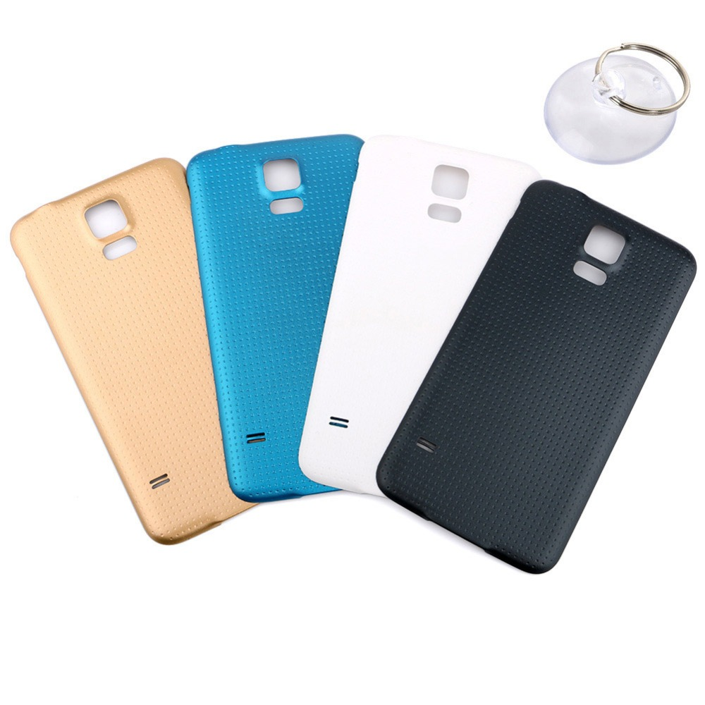 Back Housing For Samsung Galaxy S5 Back Cover Case Battery Rear Door For Galaxy 5.1