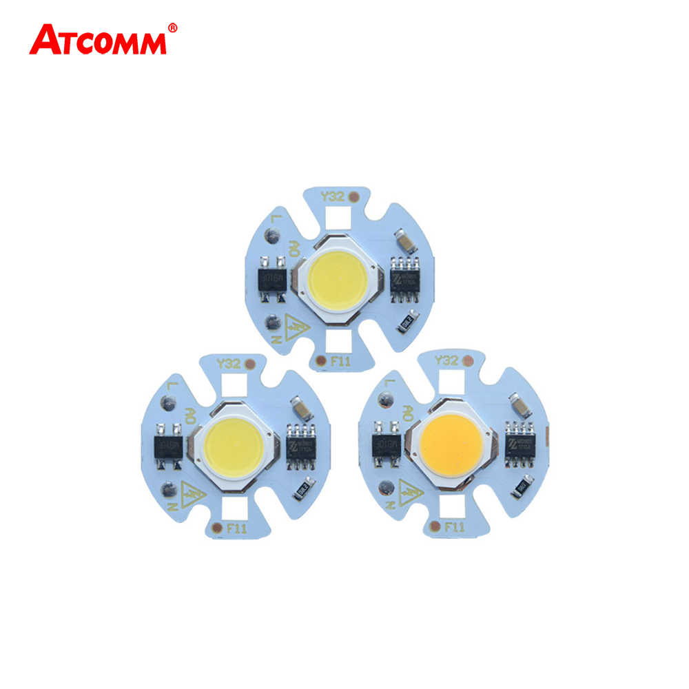 3W 5W 7W 9W LED Matrix 110V 220V COB LED Lamp High Brightness LED Diode Array For Searchlight Projector Floodlight