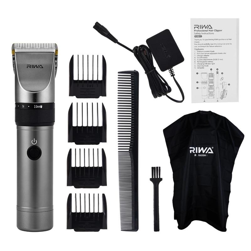 RIWA X9 Rechargeable Clipper Professional Hair Trimmer Men Haircut Hair Clipper Shaving Machine Razor Titanium Ceramic Blade