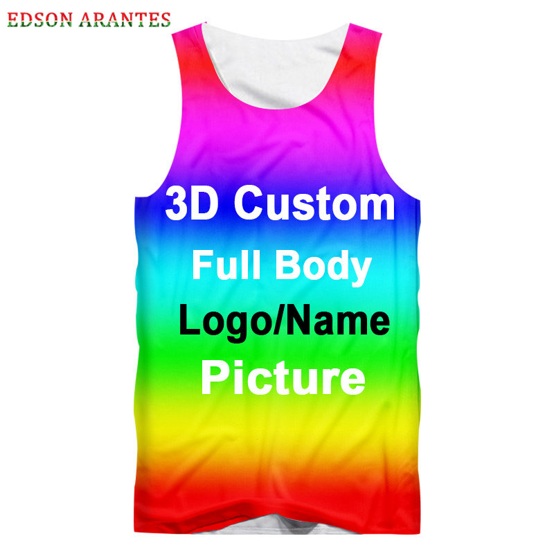 Tank Tops Men Women Personalized Gym
